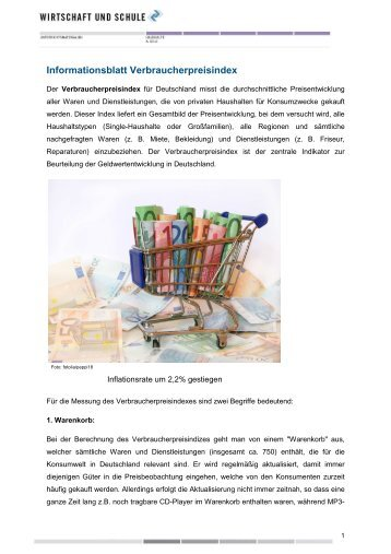 """Arbeitsblatt """"Ökologie vs. Ökonomie"""" - Wirtschaft und Schule"""