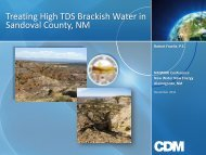 Treating High TDS Brackish Water in Sandoval County, NM