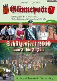 Schützenfe–t 2010 - St. Peter und Paul Schützenbruderschaft ...