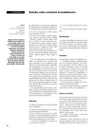 Estudis sobre retolació d'establiments - Generalitat de Catalunya