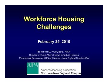 What is Workforce Housing? - The Ohio State University