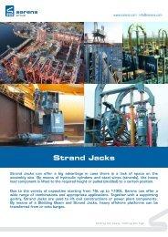 Leaflet Strand Jacks - Sarens