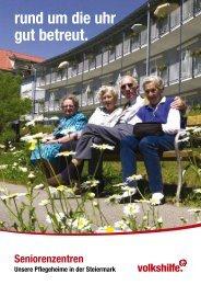 allgemeine Broschüre - Volkshilfe Steiermark