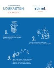 LOBKARTEN - Customer Experiences That Matter