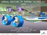annual meeting of marine technology himt wartsila propulsion systems