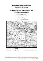 35. Änderung F-Plan Flecken Artlenburg Begründung