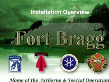 Installation Overview - BRAC RTF