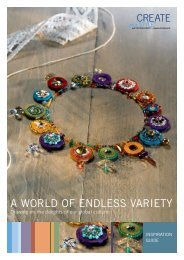 A WORLD OF ENDLESS VARIETY - Create Your Style