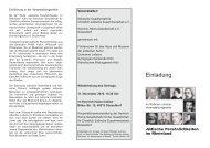 Info-Flyer zu Isaac und Jacques Offenbach - Kölnische Gesellschaft ...