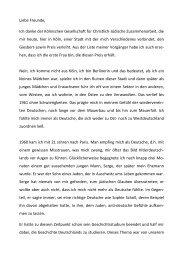 Dankesrede - Kölnische Gesellschaft für christlich-jüdische ...