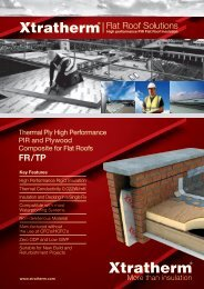 Flat Roof Board FR/TP - Xtratherm