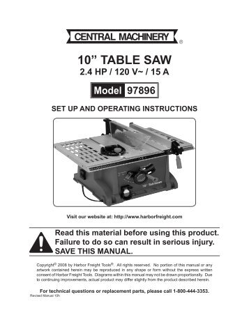 Hitch lift 12 vdc 500 lbs harbor freight tools for 10 table saw harbor freight