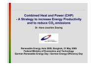 CHP - Renewables Made in Germany
