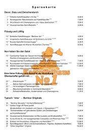 Speisekarte ansehen oder downloaden - Kartoffelhaus Berlin