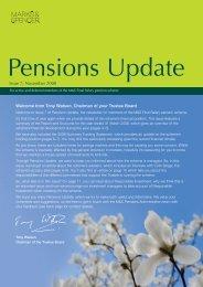 Marks & Spencer Final Salary Pension Scheme - PRAG
