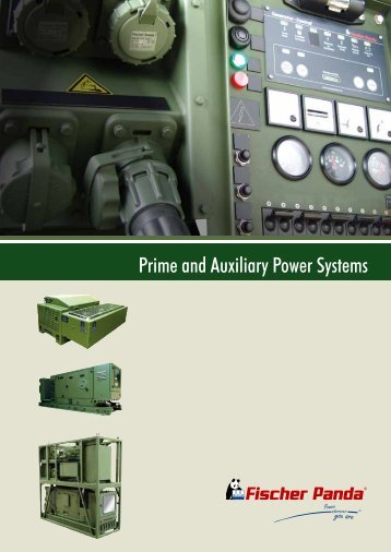 Prime and Auxiliary Power Systems