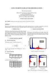 LATEX Thesis Template Documentation - Matthias Pospiech