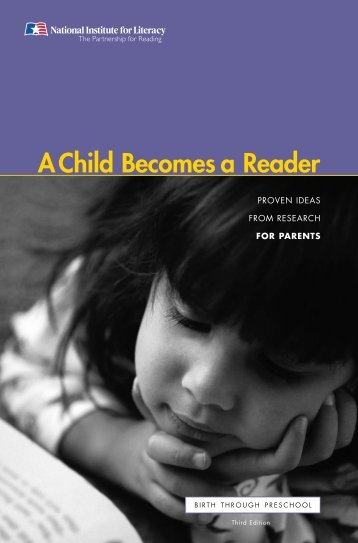 A Child Becomes a Reader - LINCS - U.S. Department of Education