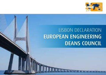european engineering deans council declaration - SEFI