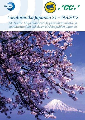 Luentomatka Japaniin 21.–29.4.2012 - Plandent Oy