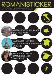 RomanisTicker Sommersemester 2012 - Institut für Romanistik ...