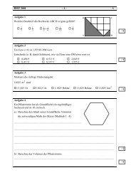BMT 2001 - 1 - A Aufgabe 1 Welcher Bruchteil des Rechtecks ABCD ...