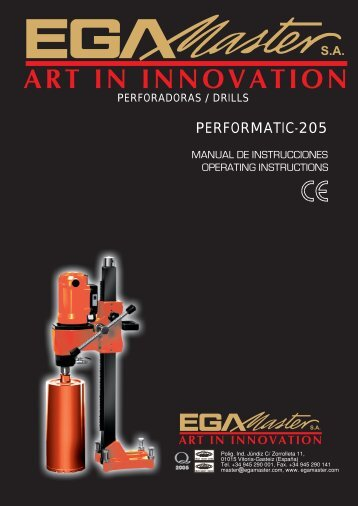 PERFORMATIC-205 - Ega Master