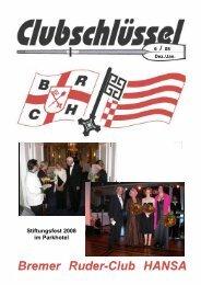 Ausgabe 6/08 - Bremer Ruder-Club HANSA