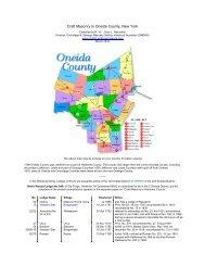 Craft Masonry in Oneida County, New York - Onondaga and ...
