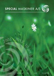 Se vores katalog 2013 - Special Maskiner A/S