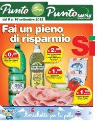 dal 6 al 16 settembre 2012 € 0.20 - Simply Market