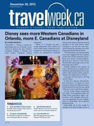 Disney sees more Western Canadians in Orlando ... - Travelweek