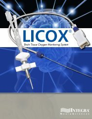 LICOX Brochure - Integra LifeSciences