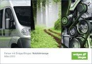 Fahren mit Erdgas/Biogas: Nutzfahrzeuge März 2013 - Erdgasfahren