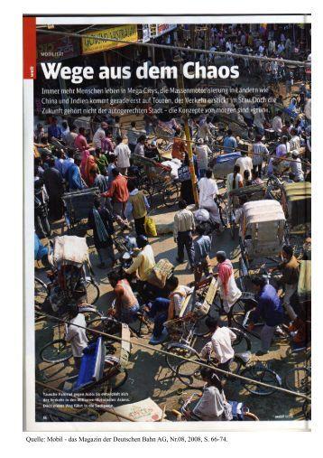 Wege aus dem Chaos