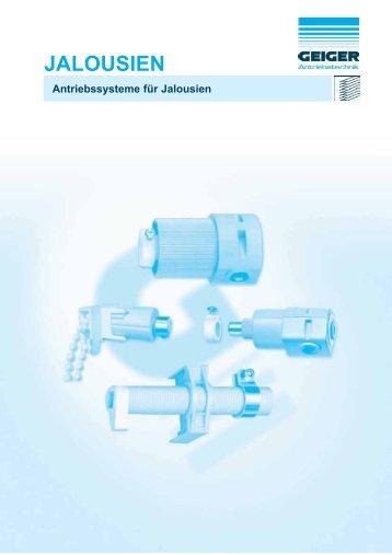 JALOUSIEN - Geiger Antriebstechnik