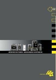 Ortsfeste Batterien - PER Flucht- und Rettungsleitsysteme GmbH