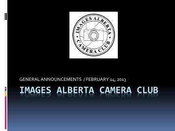 Feb 14 2013. - Images Alberta Camera Club