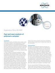 Fast and easy analysis of polymeric samples - Bruker