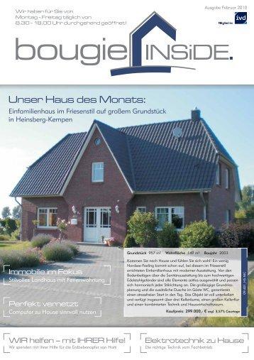 Unser Haus des Monats: - Bougie
