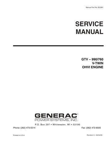 Quietpact 40G Diagnostic Repair Manual Model 4700