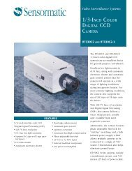 rt330c2 and rt330c2-1 1/3-inch color digital ccd camera datasheet