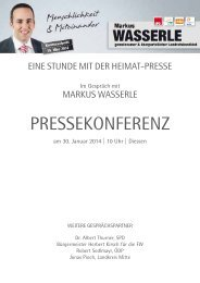 Do, 30.01.14 - Markus Wasserle