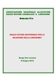 associazione nazionale allevatori razze bovine ... - ARA Sardegna