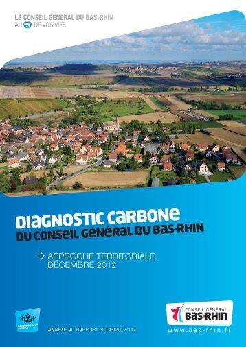 document conseil general bas rhin 2012 diagnostic carbone territorial