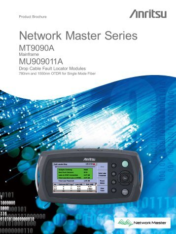 Anritsu MT9090A: Network Master - elsinco