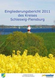 Eingliederungsbericht Landkreis Schleswig-Flensburg