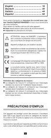 MA4000D - Chauvin Arnoux - Page 2