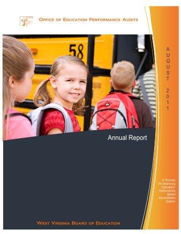 Annual Report 2011 - OEPA