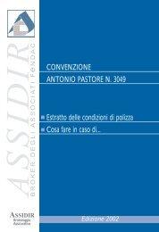 Estratto Condizioni di Polizza Convenzione n. 3049 - Assidir